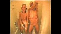 Group Of College Lesbians Enjoy Hot Shower - fi...