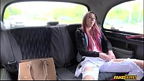 Redhead college teen Paris Divines doggystyle sex in the backseat porn videos