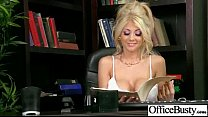 (kayla kayden) Horny Busty Office Girl Enjoy Ha...