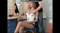 squirt and fuck hard doing brunette Titted