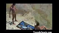 nudismo de praia na transando casal amador - beach nudism a on sex make Couple