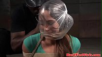 flogged and tiedup submissive Breathplay