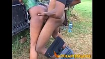 Hard Sex With Her Master Makes Obedient African...