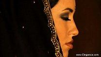 Brunette Bollywood Dancer Babe