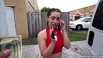 scooping up a sexy chonga with a big ass in miami fl bb15113