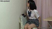 japanese schoolgirl under desk
