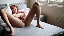 Redhead Yanks Babe Molly Broad Masturbating thumb