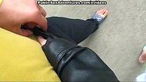 Public sex with a hottie thumbnail