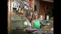 Blonde hotties Carmen Cocks and Sandy are having a thumbnail