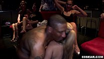 horny girls enjoy male stripper party