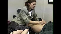 lady boss demands for man s cum in four minutes