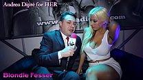Hot twerking of Blondie Fesser on Andrea Diprè thumb