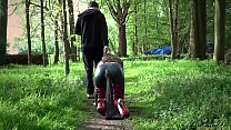 Punished and fucked, sub slave is disciplined w...