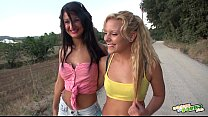 shower the at lesbians hot - caliente Duchita