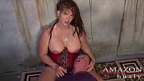 Saharra Huxly Abuses Slave Billy