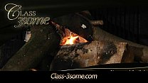 fireplay the by threesome hot Romantic
