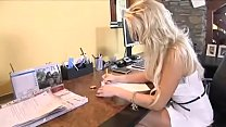Horny secretary Jumps On Her New Bosses Cock - ...