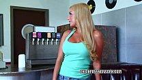 Busty blonde Mariah Madysinn is taking dick fro...