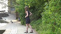 Cute british teen Laura is hot, horny and in public porn videos