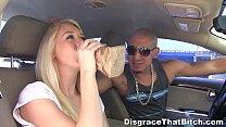 Disgrace That Bitch - Drunken redtube slut on t...