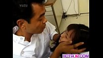 Japanese AV Model nurse is fucked oral and in cooter by doctor thumbnail