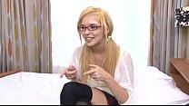 Blond teen creampie - Yellow on White part.1 porn videos