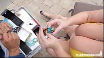 BBW Legend Samantha 38 wear Yellow Bikini in XXX Scene thumbnail