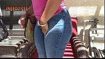 2 girls wetting their pants hooters uniform omorashi