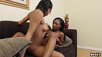 Hot Black Lesbians Sure Do Know How to Please E...