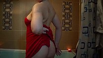nude in bathroom shave pussy-ass ,oil body   lo...