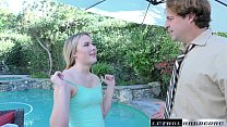 Alyssa Cole begs for Stepdad's cock to fill her...