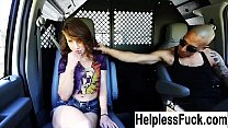 tied up hitchhiker fucked