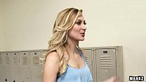 Tall, Stunning Blonde Alexa Grace Fucked By Trainer HD