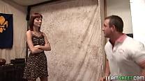 redhead perky titty teen rammed hard by her coach