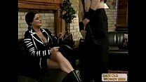 Mature woman and well hung guy show