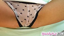 give me pink in cayenne s debut she stuffs panties up her snatch