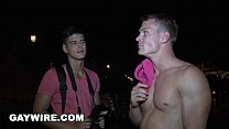 GAYWIRE - Drago Lembeck Anal Pounding A Tourist...