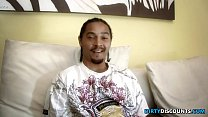 Doggystyled bigbooty ebony gets ass jizzed porn videos