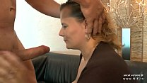 Amateur bbw french mature sodomized double pene...