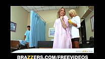 bath sponge a patients her gives nurse blond sexy Incredibly
