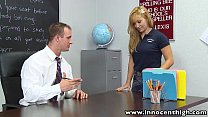 innocenthigh blonde small tits babe lea lexis classroom sex