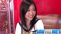 Akina Nakahara craves for this guy\u0412\u0491s dick in her