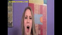 Blondes Swallowing a Black Load