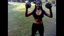 Sexy Desi Indian Girl Excercise - Boob Show porn videos