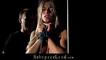 Tormenting a whining slave