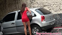Videos de Sexo Latina bandida transando no estacionamento