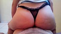 Videos de Sexo Vovó safado sentando no cacete do novinho