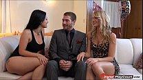 katrina gives her lover a birthday threesome with amanda