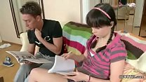 Step-Sister Seduce To Fuck by Step-Bro while Ho...