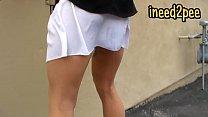 janira wolfe female desperation and peeing her panties
